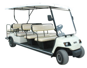 11 Seat Floded Back Seat Electric Sightseeing Cart (LT-A8+3) pictures & photos