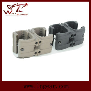 Tactical Military Gear MP7 Double Clip Connector Mag Clip pictures & photos