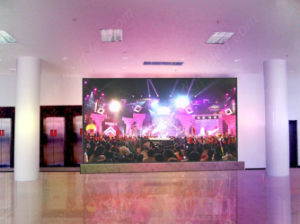 Slim Aluminum LED Display Panel with 500X500mm (Indoor P3.91) pictures & photos