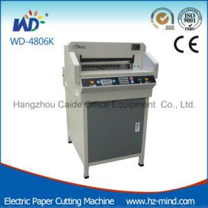 Professional Manufacturer Digital Control Paper Cutter Paper Cutting Machine (WD-4806K) pictures & photos