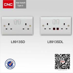 European Style High Quality Two Way Wall Switch pictures & photos