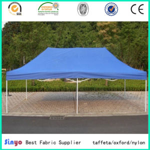 Polyurethane Coated Textile Waterproof Oxford 600d Awning Fabric with UV Protected pictures & photos