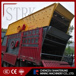 Stone Vibrating Screen Whit Manganese Steel Screen pictures & photos