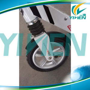 Air Tire Wheel Adult Scooter pictures & photos