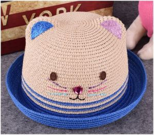 2017 New Summer Straw Cap Mini Cute Children Caps Wholesale