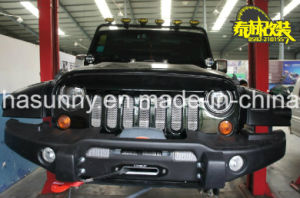 Top Sale Angry Bird Style Car Grille Black Front Grille for Jeep Wrangler pictures & photos