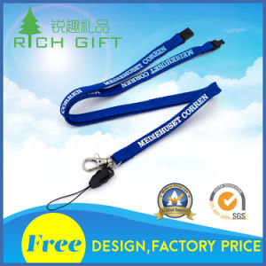 Supply Custom High Quality Cheap Job Card Lanyard for Firm pictures & photos