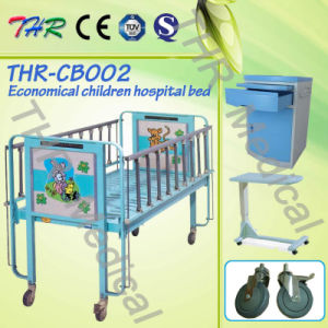 Thr-CB002 Stainless Steel Hospital Cartoon Childern Bed pictures & photos