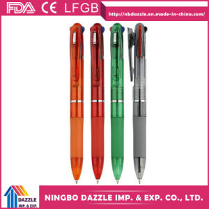 Multifunctional Ball Pen Retractable Colored Ink Ballpoint Pens pictures & photos