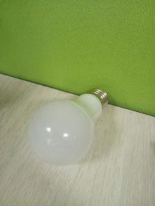 Plastic+Aluminum 5W E27 Milky Cover LED Light Bulb pictures & photos