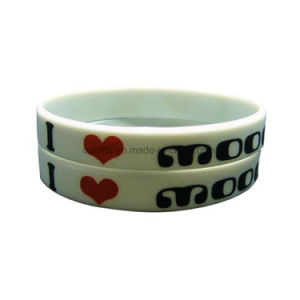 Fashion Silicone Bracelet Silicon Rubber Band pictures & photos