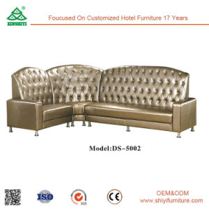 Luxury Sectional Solid Wood with Fabric Corner Sofa pictures & photos