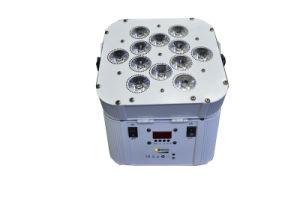 Imported 12PCS LED DMX Wireless Battery PAR Light pictures & photos