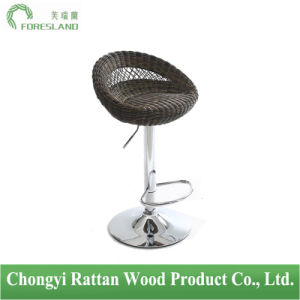 PE Rattan Bar Chair Counter Stool PS-01 pictures & photos