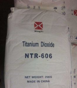 Industrial Grade Rutile Titanium Dioxide Ntr-606 pictures & photos