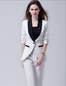 White Fashion Women Casual Suit, Elegant Ladies Blazer pictures & photos