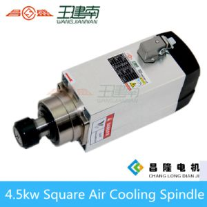 Ce Standard Air Cooled CNC Spindle Motor 4.5kw 18000rpm for Woodworking pictures & photos