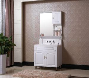 Floor-Mounted Modern Oak Wood bathroom Furniture Bathroom Vanity Cabinet pictures & photos