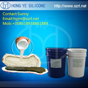 Good Elasticity RTV-2 Addition Cured Silicone Rubber for Crafts pictures & photos