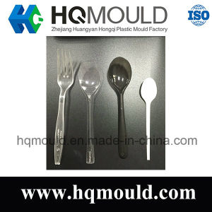 Customize Different Kinds of Plastic Spoon & Fork Mould pictures & photos