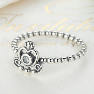 100% 925 Sterling Silver My Princess Queen Crown Jewellery Ring pictures & photos