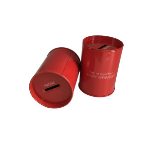 Round Coind Money Box Wholesale Factory Directly Custom Printing pictures & photos