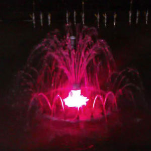 LED Color Changing Decorative 1.2m Small Dancing Fountain pictures & photos