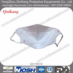 N95 Folding Nonwoven Dust Mask Disposable Respirator Mask pictures & photos