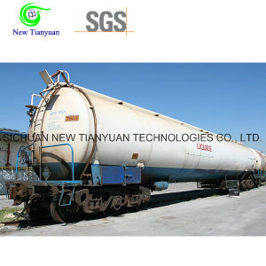 High Vacuum Multi-Layers Cryogenic Pressure Vessel Tank pictures & photos