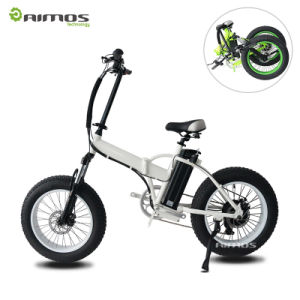 """20"""" Fat Tire Folded Electric Bike with Rear Gear Motor pictures & photos"""