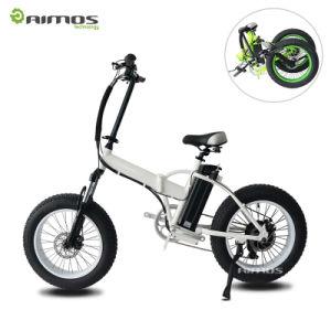 350W Electric Bike/Folding Fat Tire Bicicleta Electrica pictures & photos