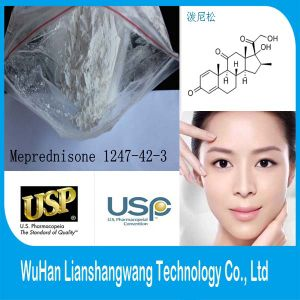 USP Top Quality Meprednisone CAS 1247-42-3 Glucocorticoid Anti-Inflammatory for Anti-Allergic pictures & photos