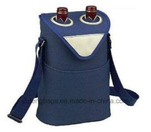 Wholesale 2 Wine Bottles Cooler Bag Yf-CB1608 pictures & photos