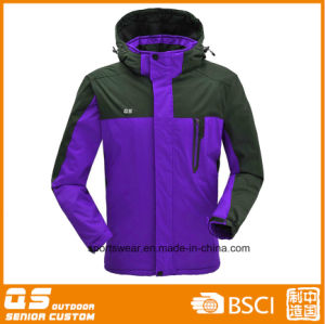 Men′s Fashion Windproof Ski Jacket pictures & photos