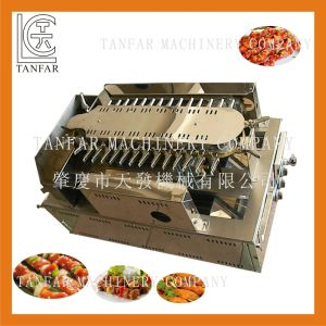 Automatic Rotating Gas Kebab BBQ Griller pictures & photos