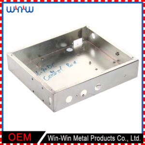 Stainless Steel Enclosure Electrical Junction Metal Cable Joint Box pictures & photos