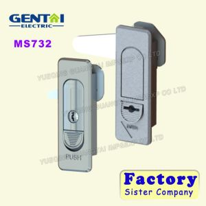 Ms732 Tool Box Push Button Lock pictures & photos