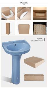 China Supplier Bathroom Vanity, Floor Stand Ceramic Pedestal Basin pictures & photos