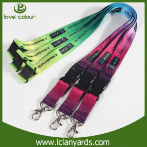 Custom Printed Strap Fashion Polyester Neck Lanyard OEM Manufacturer