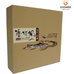 Craft Paper Box with a Sliding out Drawer pictures & photos
