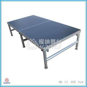 MID-Folding Aluminum Stage with Skirt pictures & photos