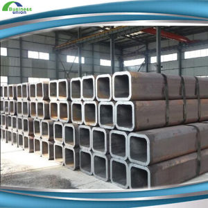 Q345 Hot Rolled 100*100mm Black Carbon Steel Pipes pictures & photos