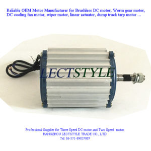 Adjustable Speed Brushless DC Exhaust Cooling Fan Motor for Air Conditioner & Train Exhaust Fan pictures & photos