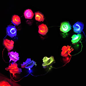 Wholesale Price LED 2m20LED Rose Battery Opearated Fairy Lights for Christmas Valentine′ Day Decoration pictures & photos