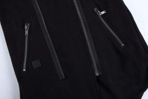 Contrast Color Mens Cotton Terry Jacket with Zipper Placket pictures & photos
