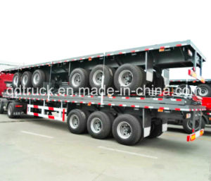 High Quality Tri-Axles Container Trailer pictures & photos