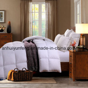 Patchwork Baffle Design Goose Down Comforter pictures & photos