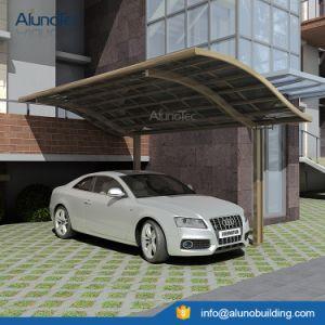 Economic Aluminum Canopy Single Carport Polycarbonate Roof pictures & photos