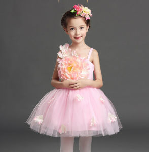 Children Dress Custom Any Color 100% Polyester Performance Costumes pictures & photos
