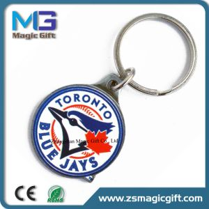 Hot Sales Promotional Photo Etching Metal Keychain with Color Filling pictures & photos